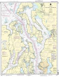 Sound Map Amazon Com 18441 Puget Sound Northern Part Fishing Charts