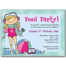 kids birthday pool party invitations masterly tips to write