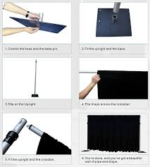 pipe and drape for sale how to set up a pipe and drape kit