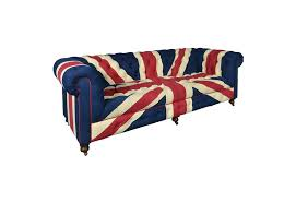 Union Jack Dining Chair Aviator Leather Dining Chair Treniq