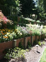 Landscape Flower Garden by Ortamentals U0026 Flower Beds Wd Landscaping