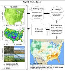 Awc Map Monitoring Vegetation Drought Stress