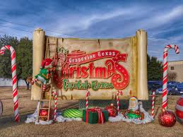 celebrating in grapevine the christmas capital of texas