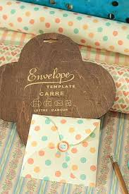 antique style eco envelope template diy gift box