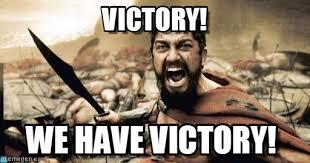Victory Meme - victory sparta leonidas meme on memegen