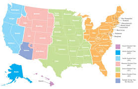 us map divided by time zones why do we different time zones wonderopolis