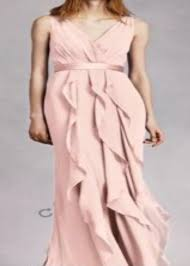 vera wang bridesmaid reduced price blush vera wang bridesmaid dress es weddingbee