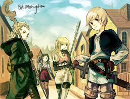 Final Fantasy The 4 Heroes Of Light Hikari No 4 Senshi By Morning6am On Deviantart