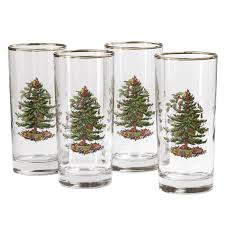spode tree highball glass set of 4 spode uk