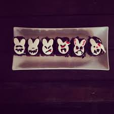 how to make halloween cakes evil bunny cakes youtube
