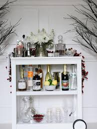 decorating a bookshelf how to make a bar cart from a bookshelf hgtv