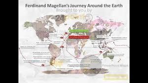 World Map Timeline by Timeline Of Magellan U0027s Circumnavigation A Visual Representation