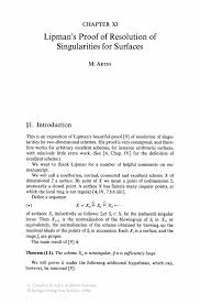 Cover Letter For Graduate Assistantship Lipman U0027s Proof Of Resolution Of Singularities For Surfaces Springer