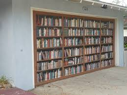 drive by design a garage library well sort of l a at bookcasemural sunsetmural mortonbayfig 263