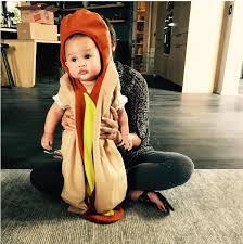 Hotdog Halloween Costume Chrissy Teigen Dresses Daughter Luna Cute Words