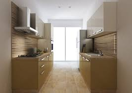 Interior Design In Kitchen Ideas Parallel Kitchen Designs For The Efficient Kitchen Traffic