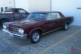 pontiac gto hard top rust free california car phs documentation