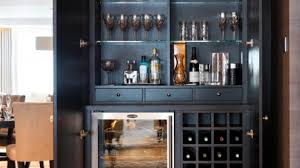 home bar cabinet designs wet bar cabinet home rustic with chalet glassware incredible