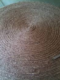 Big Round Rugs Make A Diy Round Mat Or Rug Depending On How Ambitious You
