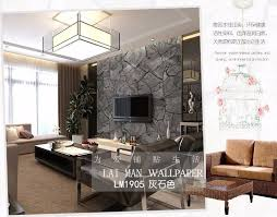 Coffee Wall Decor For Kitchen 3d Stone Wallpaper Waterproof Coffee Wall Paper Kitchen Decorative