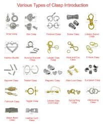 earring back types various types of clasp introduction jewelry tutorials