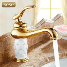 Gold Faucet Bathroom by Gold Crystal Bathroom Faucets Online Gold Crystal Bathroom