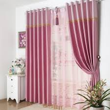 Window Curtains Design Pink Floral Window Curtains Design May Satisfy You