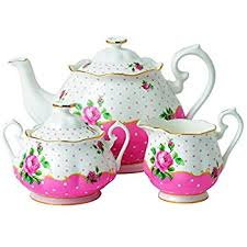 country roses tea set royal albert new country roses pink teaset 3