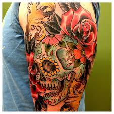 nj tattoos half sleeves pictures