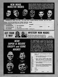 Typical Halloween Monsters by Today In Halloween Don Post Masks Keithroysdon