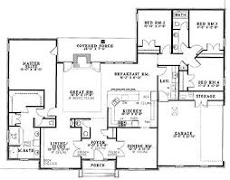 New Construction House Plans 23 Best Ranch U0026 Single Story Home Floor Plans Images On Pinterest