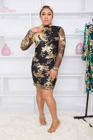 black and gold dress black gold high neck floral sequin bodycon dress thebeaufash dresses