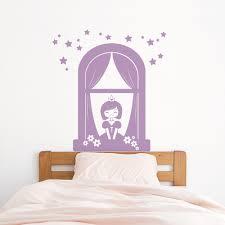 princess window wall decal