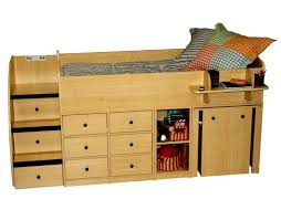 Dresser With Pull Out Desk Berg Furniture Sierra Captain U0027s Low Loft Bed With Pull Out Desk