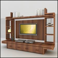 tv wall unit 3d model