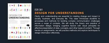 Design For by Egr 381 Design For Understanding With Sheila Pontis Keller Center