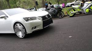 lexus forgiato infiniti and lexus on forgiato wheels at mlk park stunt sundays
