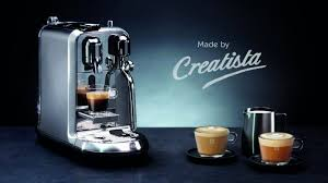 nespresso siege nespresso introduces creatista plus machine the peninsula qatar