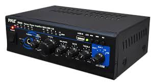 pylehome ptau45 home and office amplifiers receivers