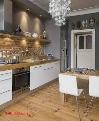 cuisine avec brique cuisine avec carrelage gris pour idees de deco de cuisine best of