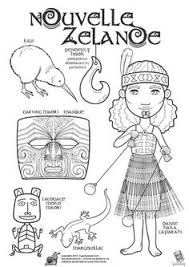 maori colouring pages kids te reo activities