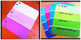 a plethora of paint swatch academic activities scholastic