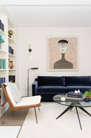 Living Room With Blue Sofa by 25 Reasons To Say Yasss To A Blue Sofa Sarah Sarna