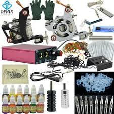 39 99 buy now tattoo starter kit 2 machine guns 6 color inks
