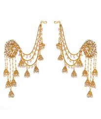 jhumki earring prita s original bahubali stylish devsena jhumki earring pearl