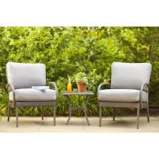 Hampton Bay Patio Furniture Cushions by Hampton Bay Posada Patio Lounge Chair With Gray Cushion 2 Pack
