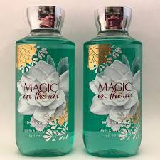 2 bath body works magic in the air shower gel wash 10 fl oz 295 ml