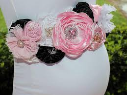 classy and fabulous coco chanel paris maternity sash pink