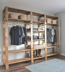 Shallow Closet Organizer - best 25 rustic closet organizers ideas on pinterest diy closet