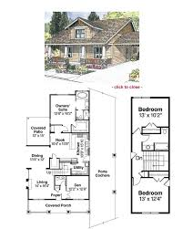 Tiny Cottages Floor Plans Hinton I Bungalow Floor Plan Tightlines Designs House Plans With